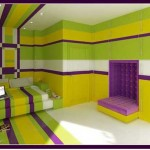 Purple and Yellow Bedroom Ideas