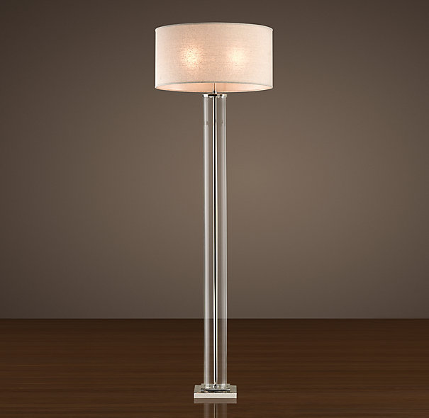 Restoration hardware floor lamps decor ideasdecor ideas for Restoration hardware floor lamp glass