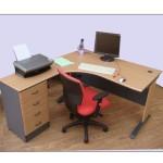 Round Corner Desk