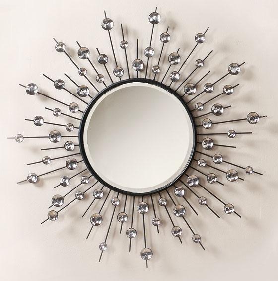 Round Mirror Wall Decor