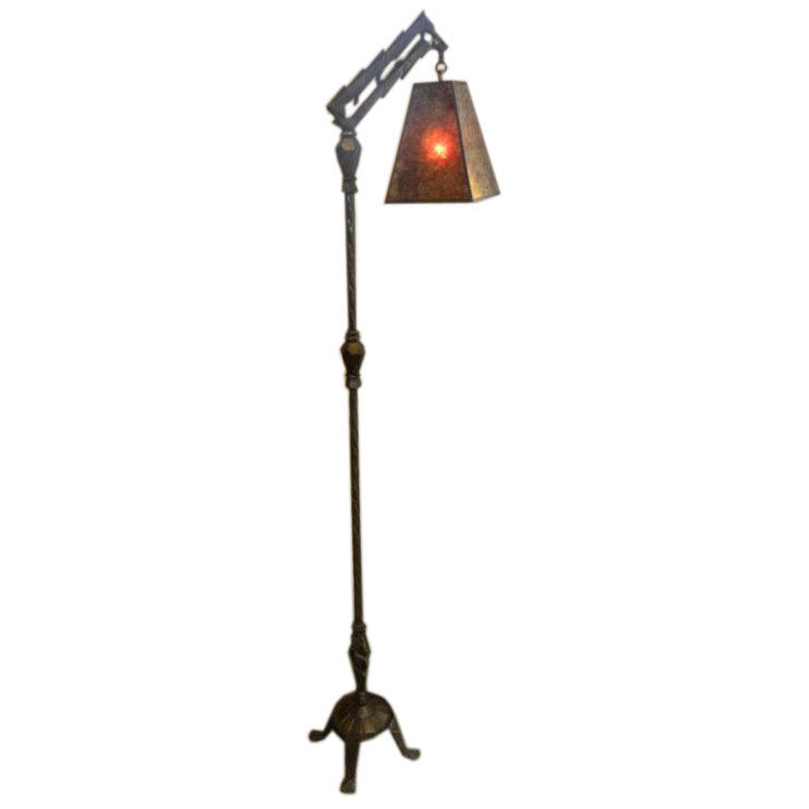 Shade Mica Floor Lamp