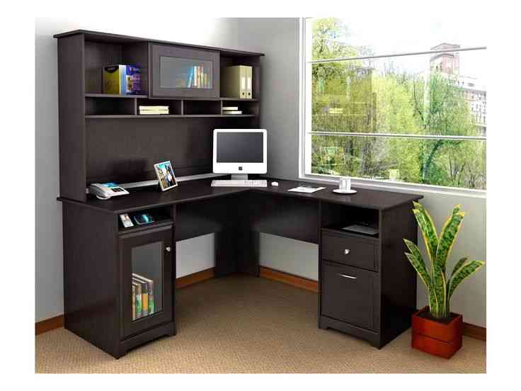 Small Black Corner Desk With Hutch Decor IdeasDecor Ideas