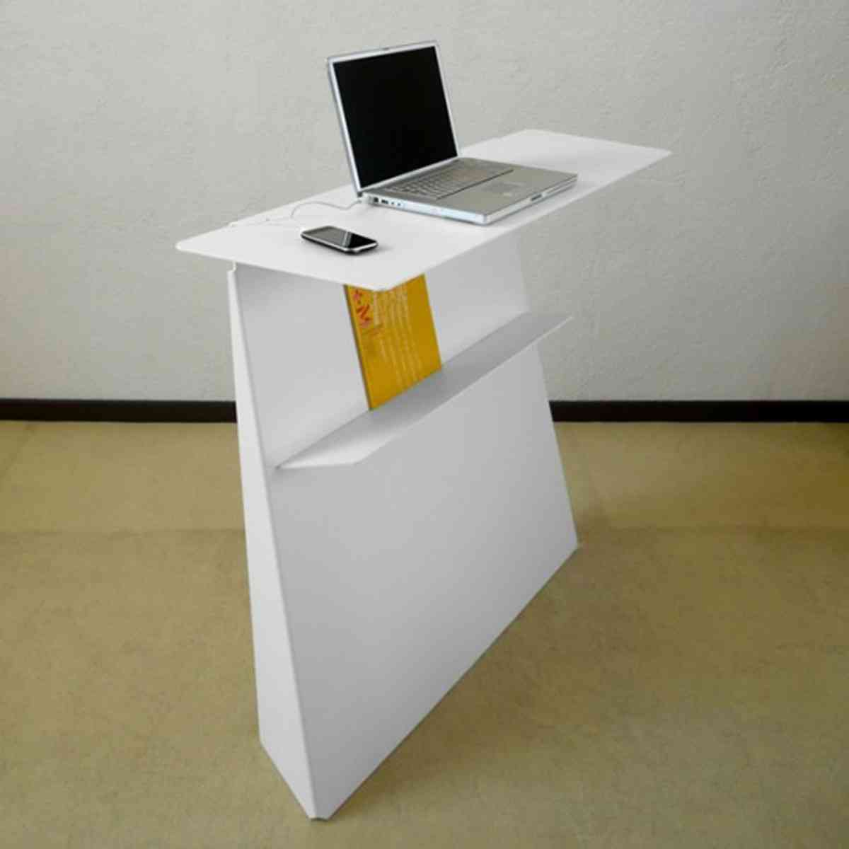 Small standing desk design decor ideasdecor ideas for Standing desk at home