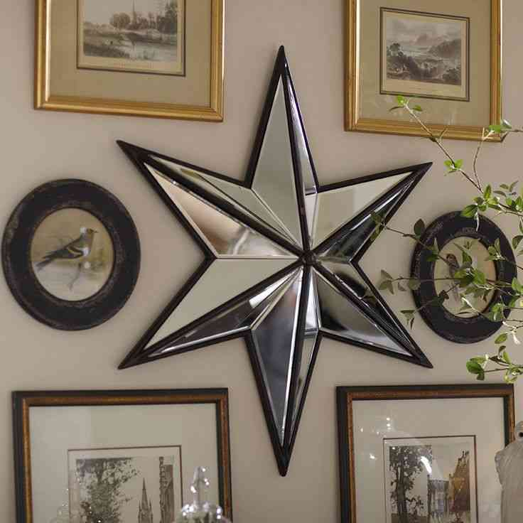 Star Mirror Wall Decor Decor Ideasdecor Ideas