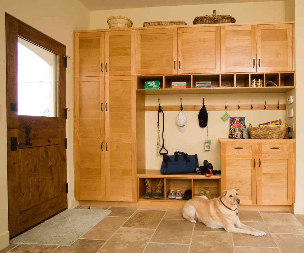 Storage Cubbies for Mudroom