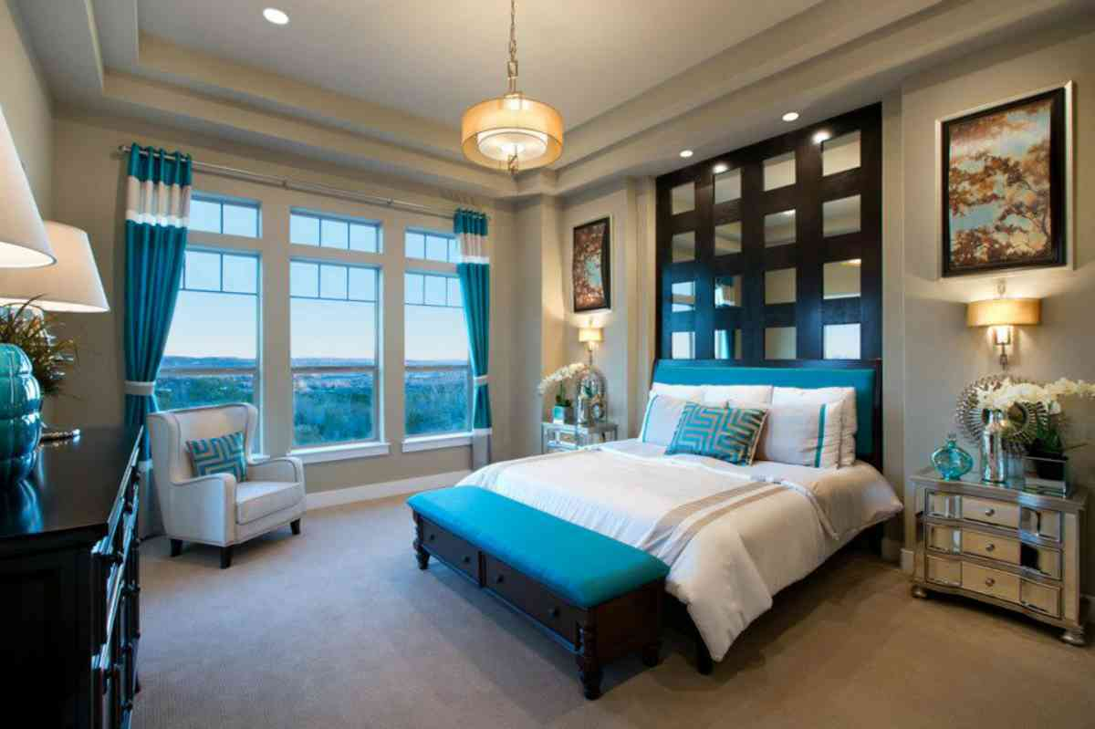 Teal bedroom designs decor ideasdecor ideas for My home interior