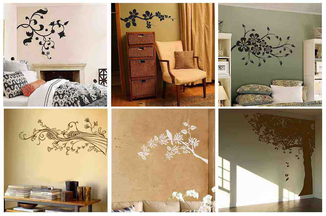 creative wall painting ideas bedroom images