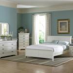 White Full Size Bedroom Set