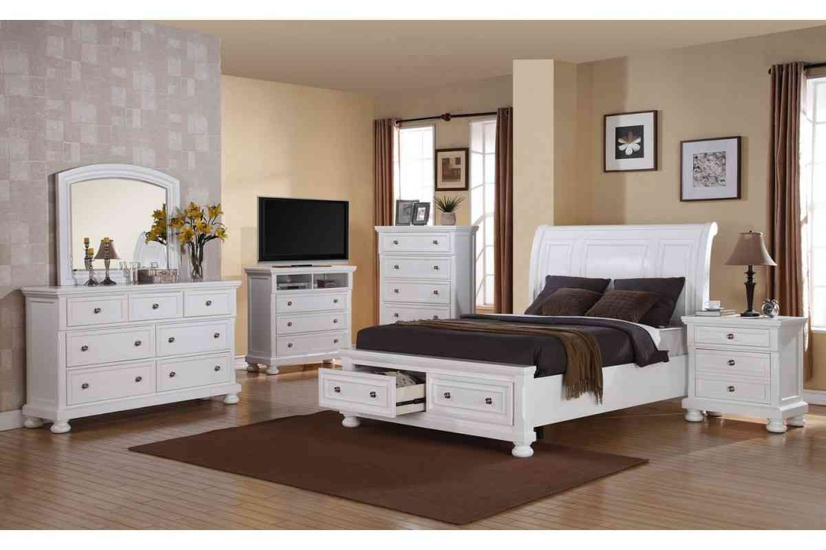White queen bedroom set decor ideasdecor ideas for White bedroom furniture sets