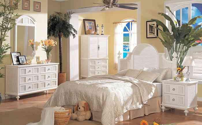 White Wicker Bedroom Set Decor Ideasdecor Ideas
