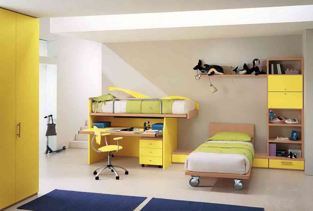 Yellow bedroom furniture decor ideasdecor ideas for Yellow bedroom designs