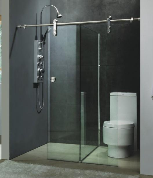 36 Glass Shower Door