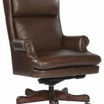 Antique Leather Office Chair