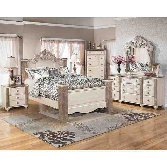Ashley furniture white bedroom sets decor ideasdecor ideas for White bed set furniture