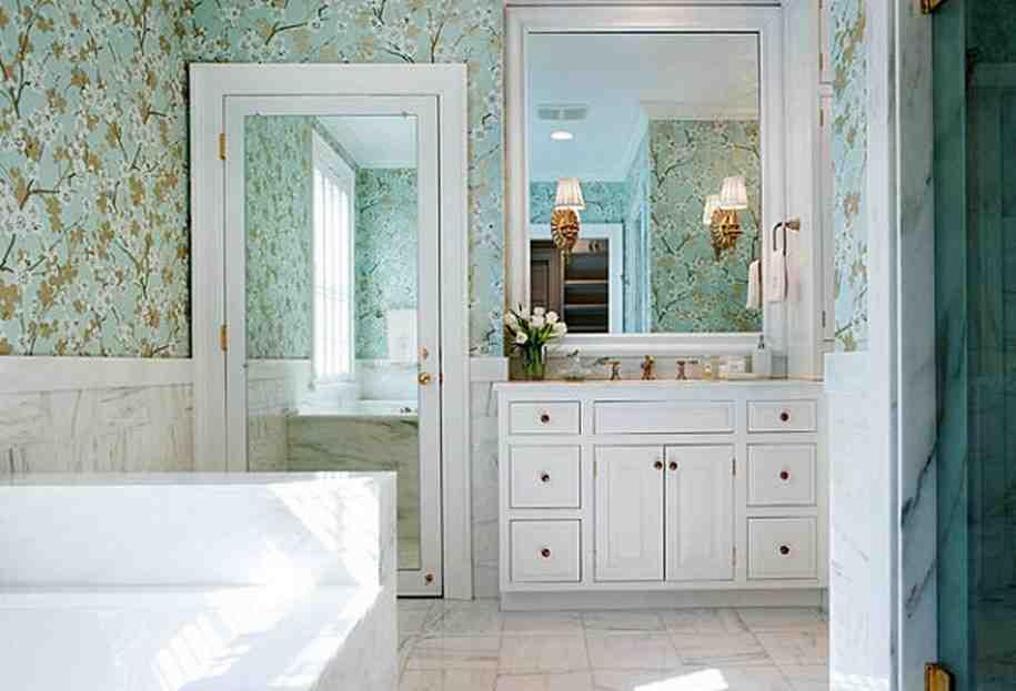 Bathroom Door Mirror