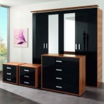 Black Gloss Bedroom Furniture