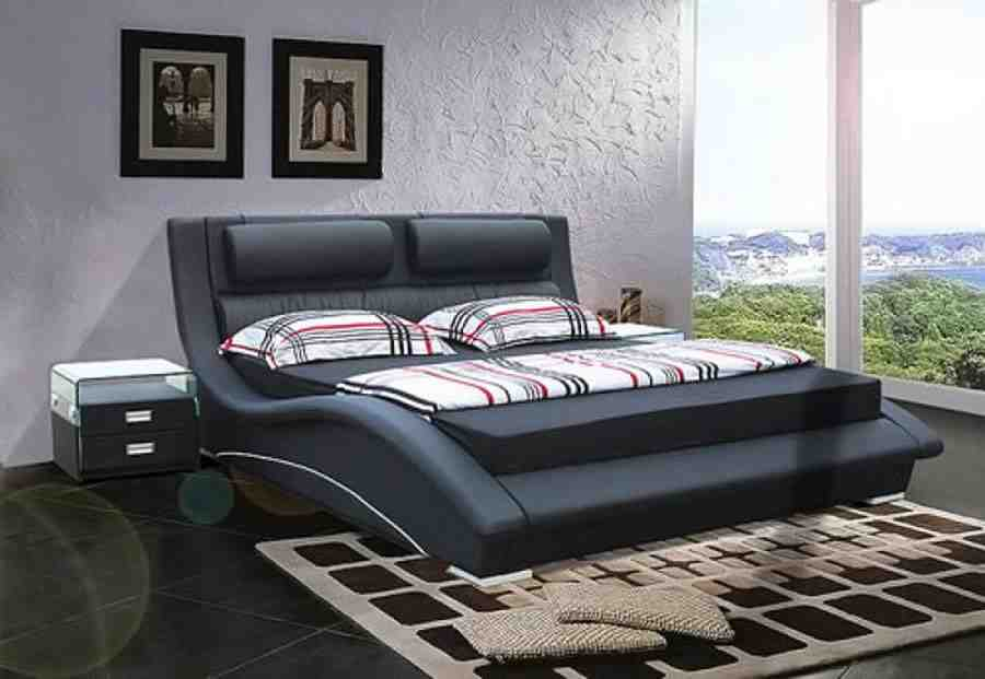 Black modern bedroom sets bedroom designs for Black modern decor