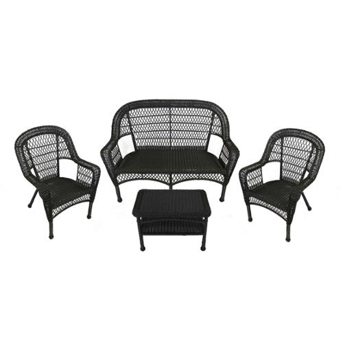 Black Resin Wicker Outdoor Furniture Decor IdeasDecor Ideas