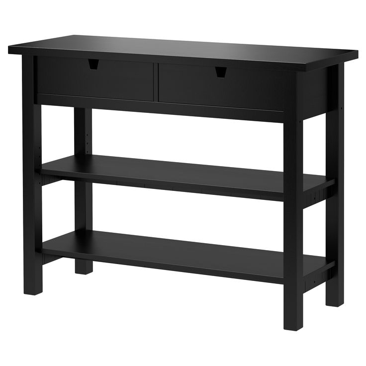 Black Sideboard Table