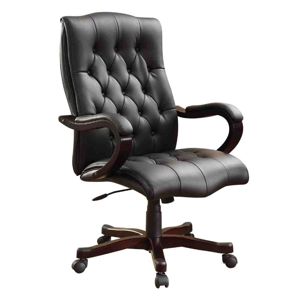 Bonded leather office chair decor ideasdecor ideas for Best office desk chairs