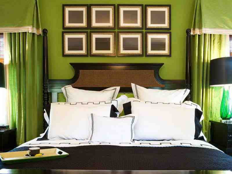 Gallery For Brown And Green Bedroom Walls
