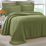 Chenille Bedspread Twin Size