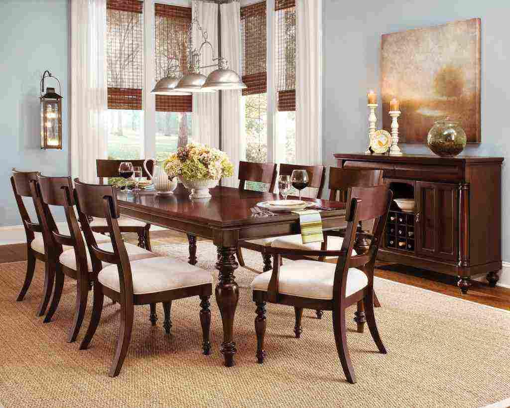 Cherry dining room chairs decor ideasdecor ideas for Cherry dining room chairs