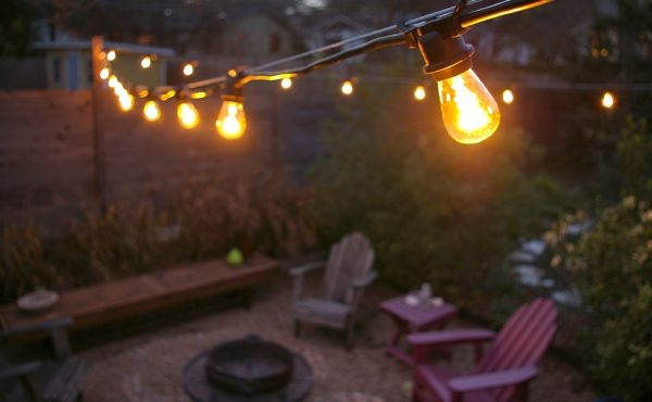 How To Hang String Lights In A Backyard : Commercial Outdoor Patio String Lights - Decor IdeasDecor Ideas