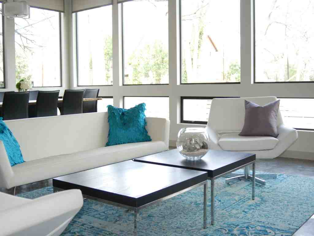 Contemporary living room rugs decor ideasdecor ideas for Modern living room decor