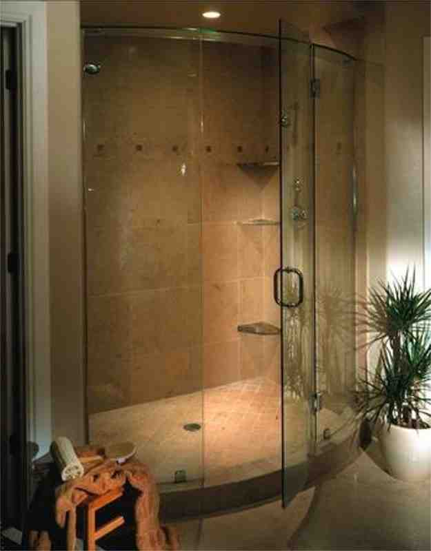 Curved Glass Shower Doors Decor Ideasdecor Ideas