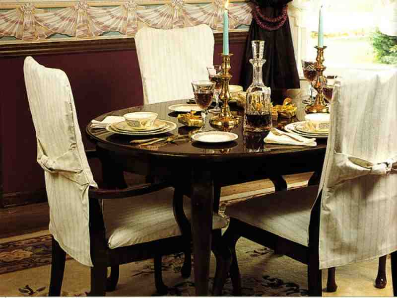 dining room chair covers with arms decor ideasdecor ideas. Black Bedroom Furniture Sets. Home Design Ideas