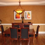 Dining Room Chair Rail Ideas