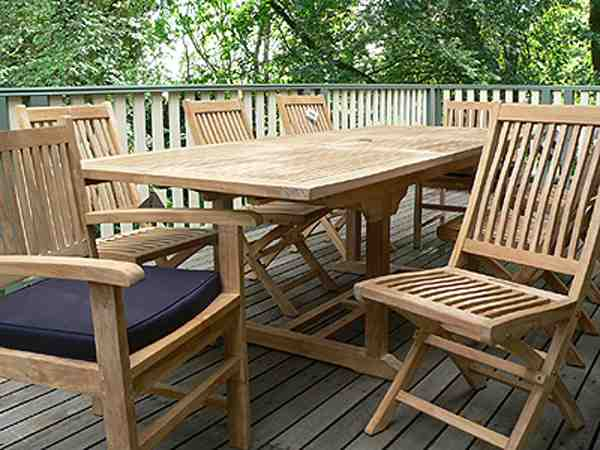 Discount teak patio furniture decor ideasdecor ideas for Teak wood patio furniture