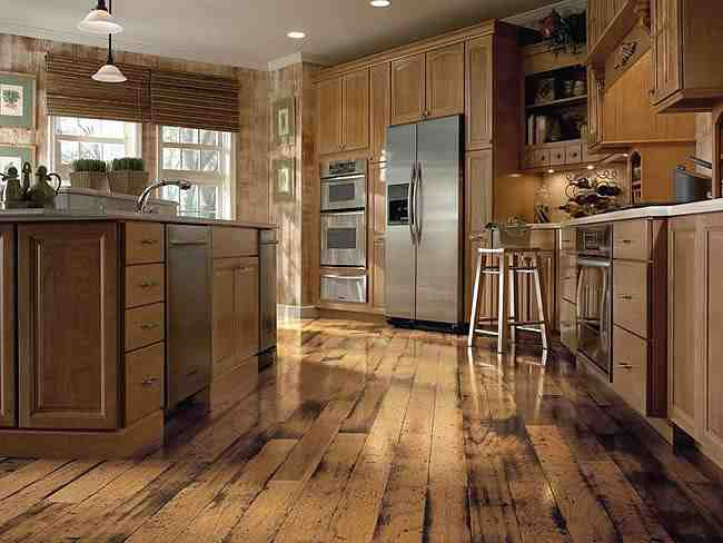 Distressed Laminate Wood Flooring