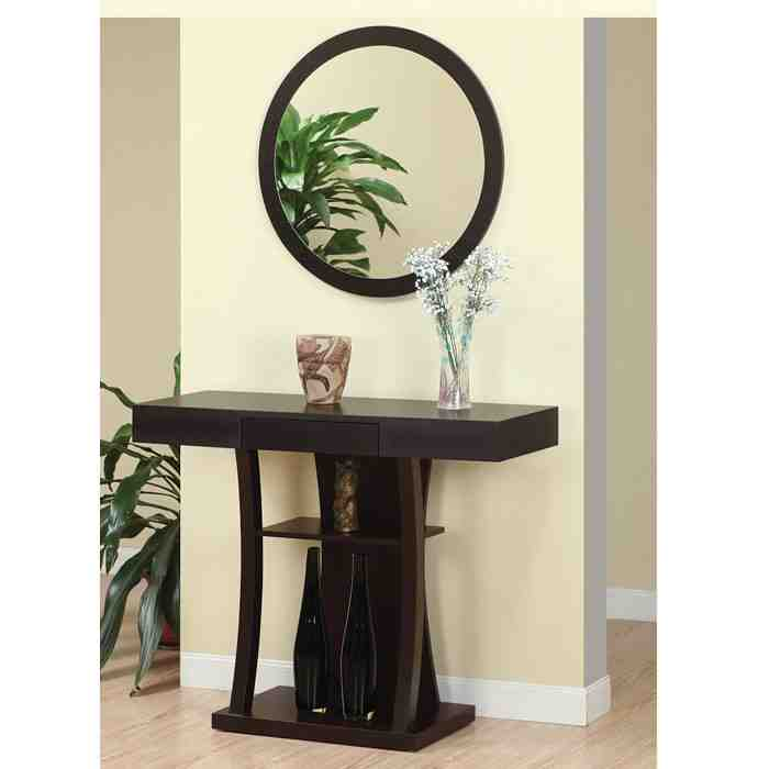 Foyer Table And Mirror : Entryway table and mirror decor ideasdecor ideas