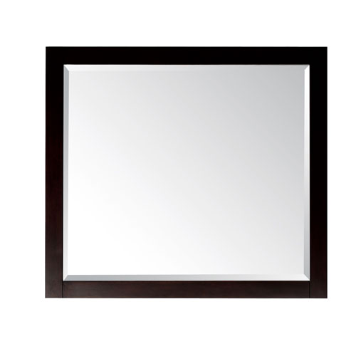 Espresso Bathroom Mirror