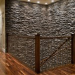 Faux Stone Interior Wall