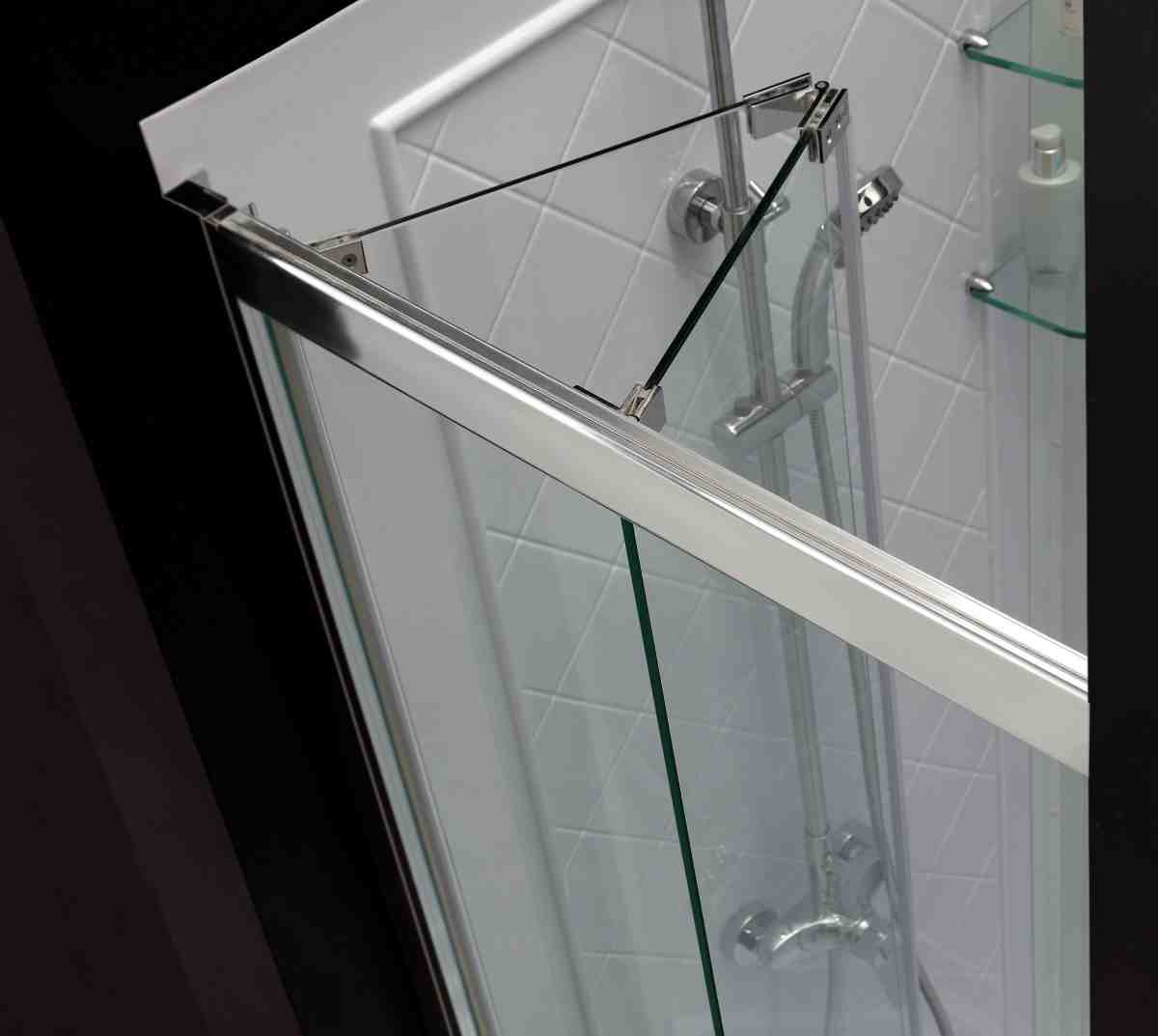Folding Glass Shower Doors Decor Ideasdecor Ideas