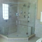 Frameless Corner Glass Shower Doors