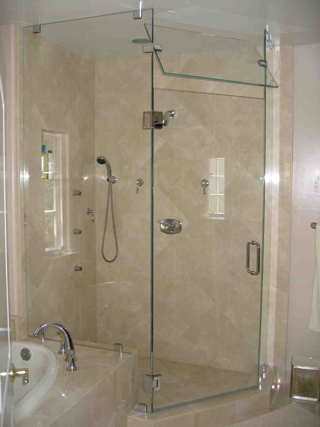 Primitive country bathroom ideas - Frameless Glass Shower Doors Home Depot Decor Ideasdecor Ideas