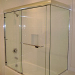 Frameless Sliding Glass Shower Doors for Bathtubs