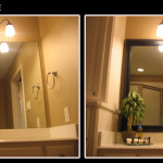 Framing Bathroom Mirror Ideas