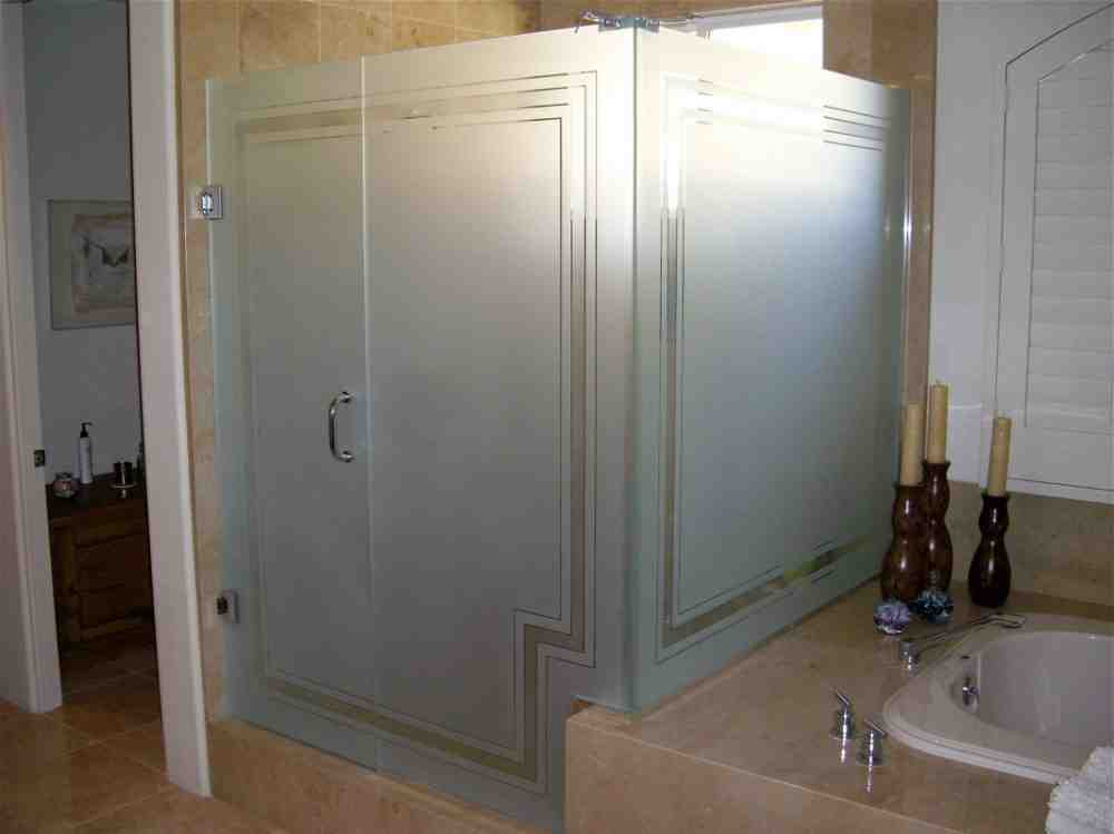 Frosted Glass Shower Door Images