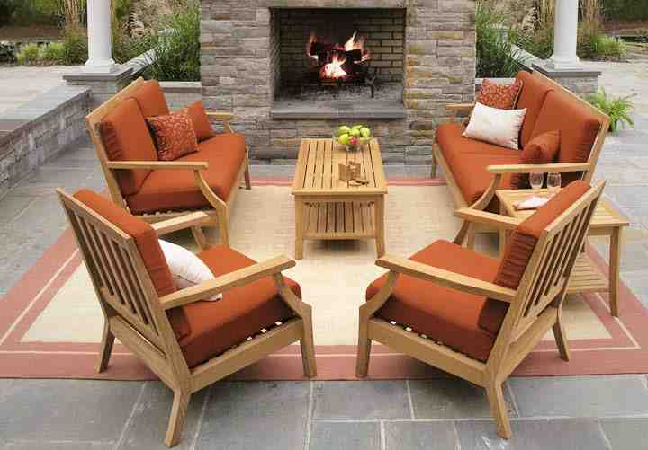 Teak Patio Furniture Design