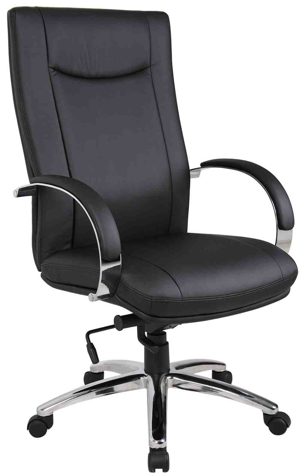Genuine leather office chair decor ideasdecor ideas for Chair design leather