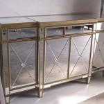 Glass Buffet Cabinet