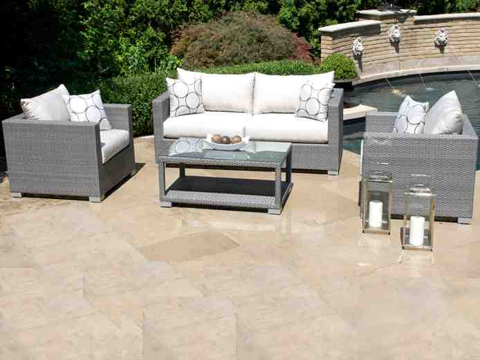 Gray Wicker Outdoor Furniture Decor IdeasDecor Ideas