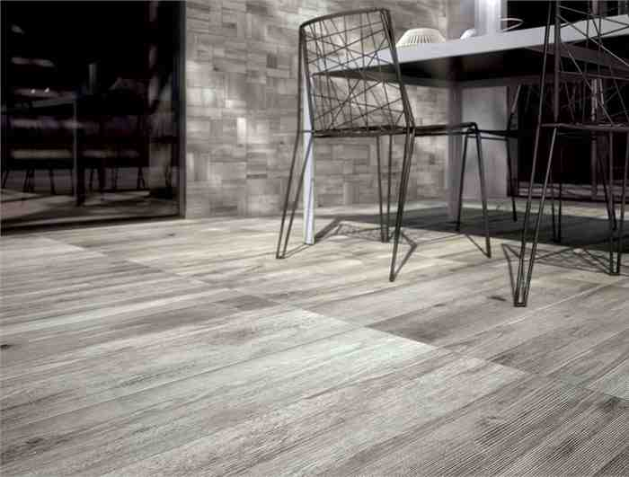 Grey Laminate Wood Flooring