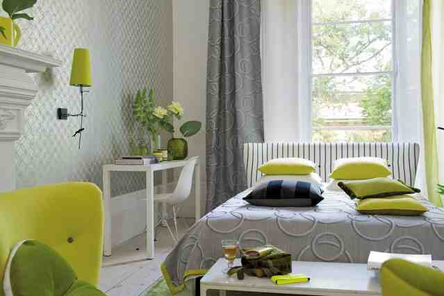 Grey and green bedroom decor ideasdecor ideas - Green and grey room ideas ...