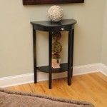 Half Moon Entryway Table